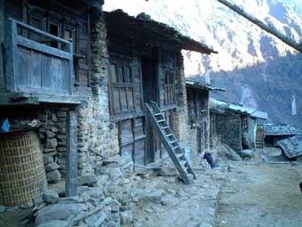 2003年12月中旬からのヒマラヤ・ランタン谷紀行